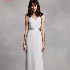 Vera Wang Bridesmaid/Formal Dress - Sterling